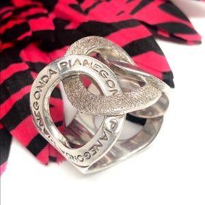 PIANEGONDA Circle Wide Band Ring